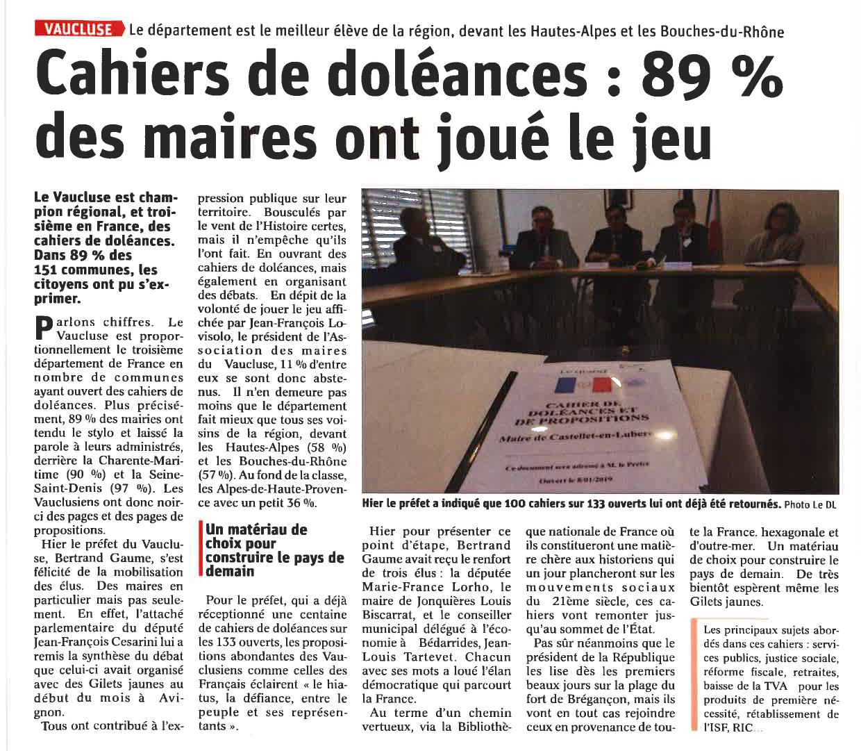 Cahiers de doléances-1