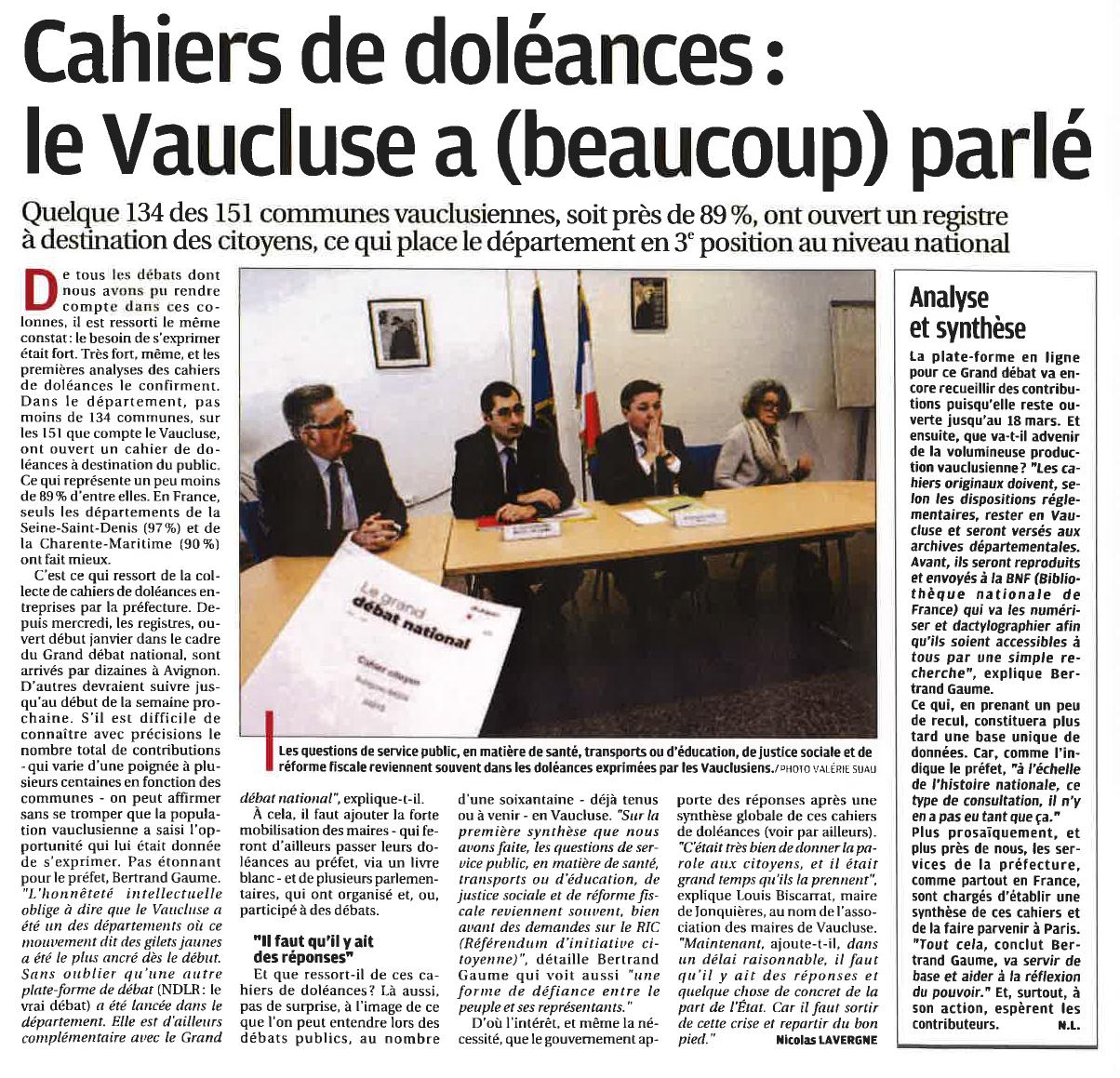 Cahiers de doléances-2