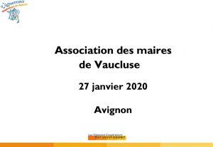 Presentation_AssoDesMaires_27_01_2020 - Foncier.ppt [Mode de com
